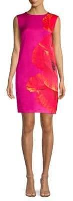 Escada Sport Dafleura Floral Sheath Dress