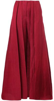 Hellessy skirt overlay trousers