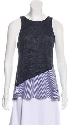 Thakoon Striped Sleeveless Top
