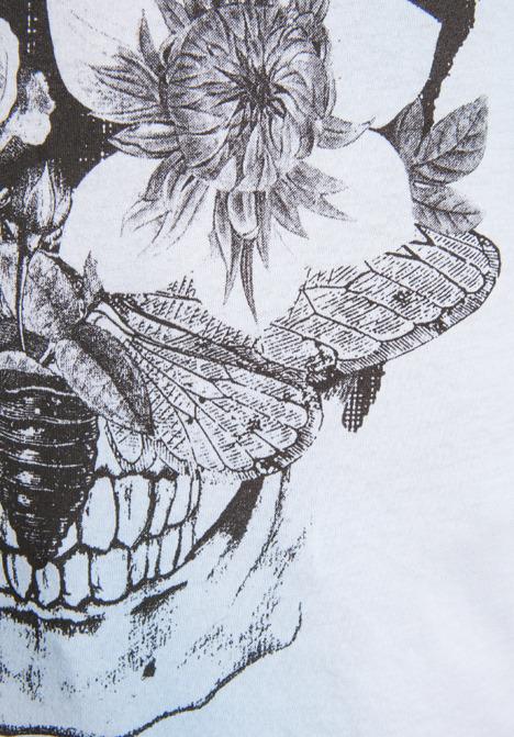 One Teaspoon Skull Flowers Vintage Tank