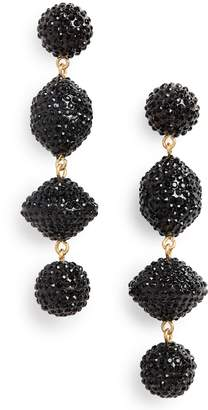 J.Crew Pave Resin Statement Earrings