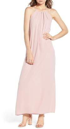 Everly High Neck Maxi Dress
