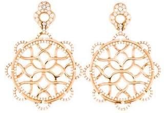 Goshwara 18K Diamond Drop Earrings