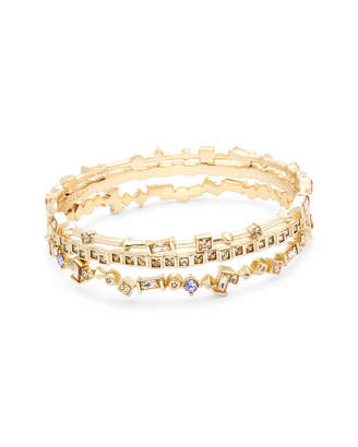 Kendra Scott Malia Bangle Bracelet Set