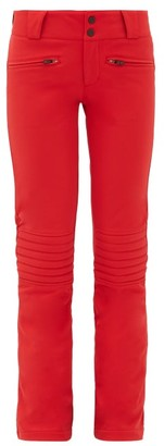 Perfect Moment Aurora Flared Ski Trousers - Womens - Red
