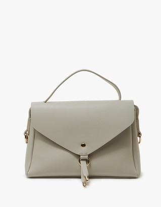 Valiance Bag in Grey $78 thestylecure.com