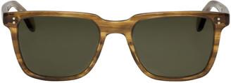 Oliver Peoples Tortoiseshell NDG I Sunglasses $430 thestylecure.com