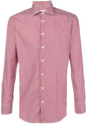 Etro striped bitton shirt