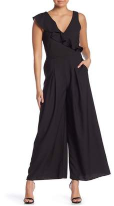 Kensie Sleeveless Ruffled Jumpsuit