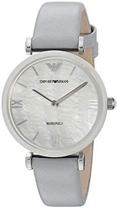 Emporio Armani Women's Quartz Stainless Steel Casual Watch
