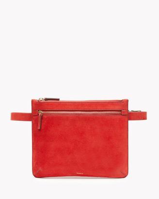 Belt Bag in Suede $165 thestylecure.com