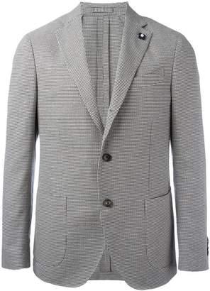 Lardini houndstooth blazer