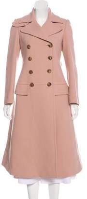 Alexander McQueen Wool Long Coat