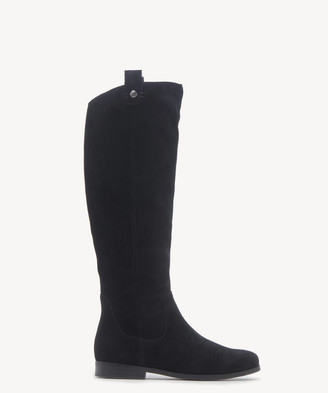 Sole Society Women's Bramie Riding Boots Black Size 5 Leather From