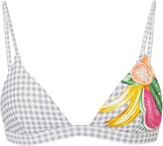 Onia Danni Mixed Fruit Bikini Top