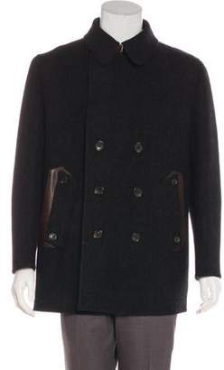 Louis Vuitton Wool Double-Breasted Coat