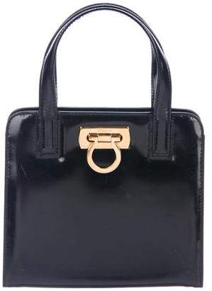 Salvatore Ferragamo Leather Shoulder Tote