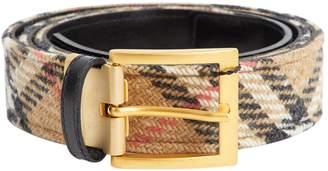 Burberry Cloth belt