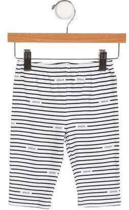 Armani Junior Boys' Striped Mid-Rise Pants