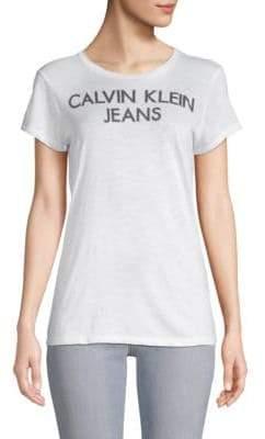 Calvin Klein Jeans Logo Short-Sleeve Tee