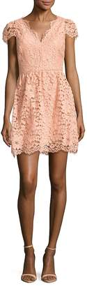 Erin Fetherston ERIN by Women's Alicia Floral Lace Fit & Flare Dress