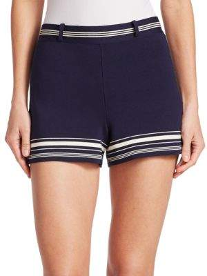 Ralph Lauren Collection Silk Mini Shorts