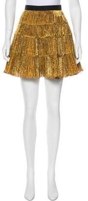 Toga Metallic Mini Skirt