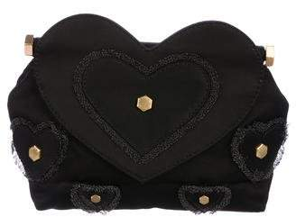 Marc by Marc Jacobs Party Girl Heart Appliqué Clutch