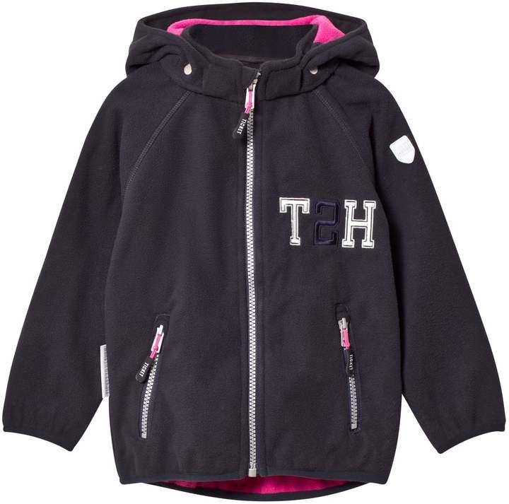 Total Eclipse Blue Kristar Fleece Jacket With Detachable Hood