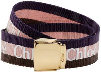 Chloé Navy Valmy Bracelet