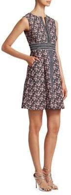 Nanette Lepore Bonnie Sleeveless Brocade Shift Dress