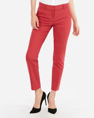 Express Mid Rise Ankle Columnist Pant
