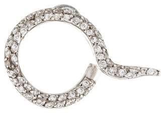 Ileana Makri 18K Diamond Trip Ear Stud