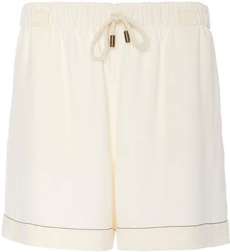 Monse Crepe Mid-Length Shorts