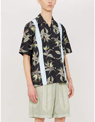 Magic Stick Yakuza Vacation relaxed-fit shell shirt