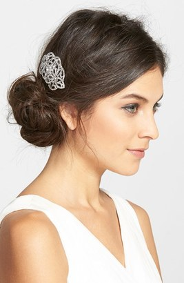 Nina Crystal Hair Comb $68 thestylecure.com