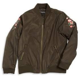 Rothschild Girl's Stand Bomber Jacket