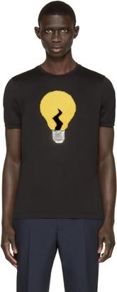 Fendi Black Light Bulb Appliqué T-Shirt $650 thestylecure.com