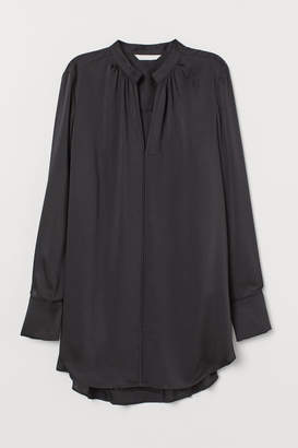 H&M Long Blouse - Black