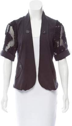 Mayle Silk Short Sleeve Jacket