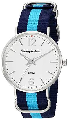 Tommy Bahama Men's Quartz Stainless Steel and Nylon Casual watchMulti Color (Model: TB00017-03)