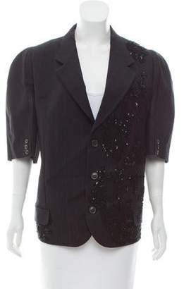 Antonio Marras Embellished Pinstripe Blazer