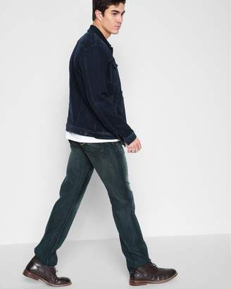 7 For All Mankind Airweft Denim Austyn Relaxed Straight in Riptide