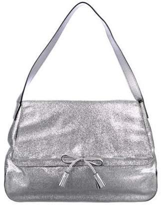 Anya Hindmarch Glitter Shoulder Bag Metallic Glitter Shoulder Bag