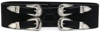 B-Low the Belt four buckle western belt