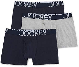 Jockey 3-pk. Active Stretch Boxer Briefs