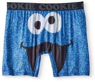 Sesame Street Big Men's Cookie Boxer Brief