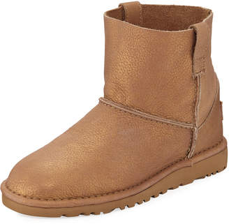 UGG Classic Unlined Mini Booties Gold