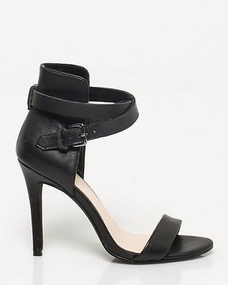 Le Château Leather-Like Ankle Strap Pump
