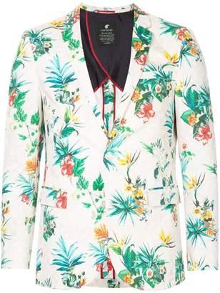 Loveless floral print blazer